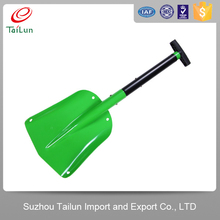 Aluminium retractable shovel snow shovel