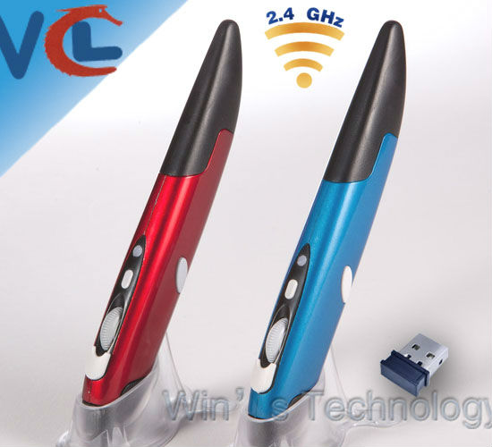 Fashional Creative 2.4G Wireless PC Pen Mouse