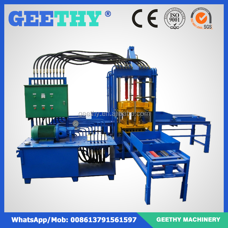 porous brick pavers QTF3-20 paving stone brick molding machine