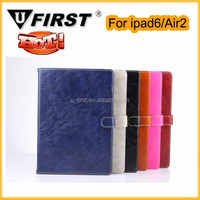 High quality and Cheap price for ipad air 2 pu leather case