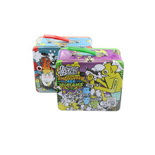 Promotion Wholesale Cartoon Printing Lunch Tin Box With Handle