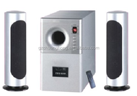 2.1 home theater subwoofer speaker with FM/USB/SD player