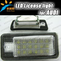 Factory supply led license plate lamp for audi Q7/A3/A4/A8/RS4,led license plate lights for audi all type car,interior lamp