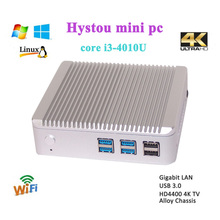 Mini computer x86 intel core i3 4010U processor HD4400 support 4K resolution 16G RAM 128G SSD 1TB HDD