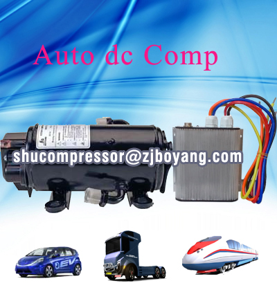 Boyard hotsellincompressor rotativo china 12v electric car ac compressor for truck auxiliary sleep air conditioner with dc power