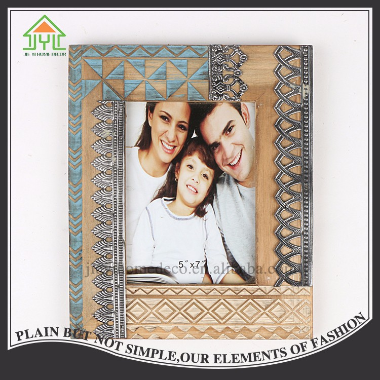 Hot Buy Beautiful Design Preferential Rectangle Carving Picture Frame Molding