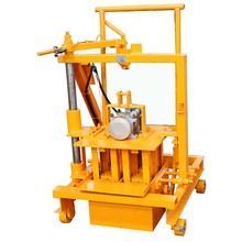manual concrete laying machine plans hollow blocks making machine for sale