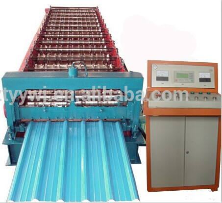 Welcomed pp/pc plastic roof sheet machine