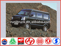 China mini van supplier for new dongfeng 8 seater mini bus sale in tata