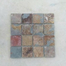 2017 hot selling Factory supply Nature Rusty pebble stone mosaic