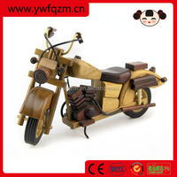Home Decor Wooden Toy Model Motorcycles Toy