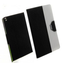 2 colors ,bracket design , leather case for ipad and other pads