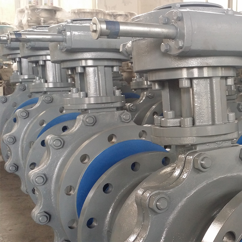 Manufacture Casting Steel WCB Floating Ball Valve