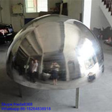 100mm-3000mm half hollow stainless steel ball,steel hollow sphere