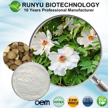 Buy natural Paeoniflorin peony glucoside Paeonia lactiflora extract by fast shipping