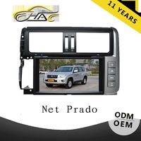 8inch Touch Screen Car DVD GPS For Toyota Prado 2010 With Bluetooth/TV/USB/SD Card/Camera