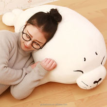 Hot Japan Seal Plush Toy Doll Pillow High Quality Soft Stuffed Animal Pillow Cushion