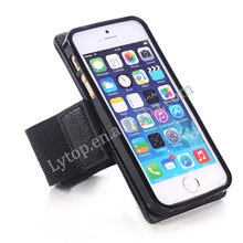 Cell Phone Accessory for iphone 5/5S Newly Design Running Sport Armband, for iPhone 5 Case Armband Leather