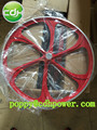 bicycle wheel with sprocket, mag alloy bike rims wheels