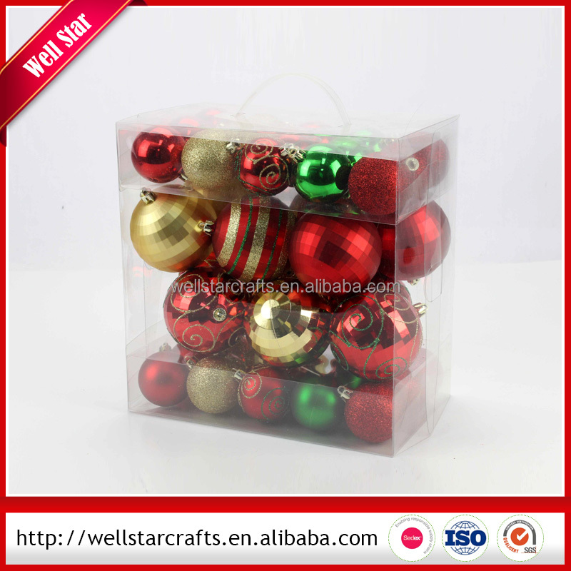 Hot Product!!!New design Fashion beautiful Christmas baubles for with Low price