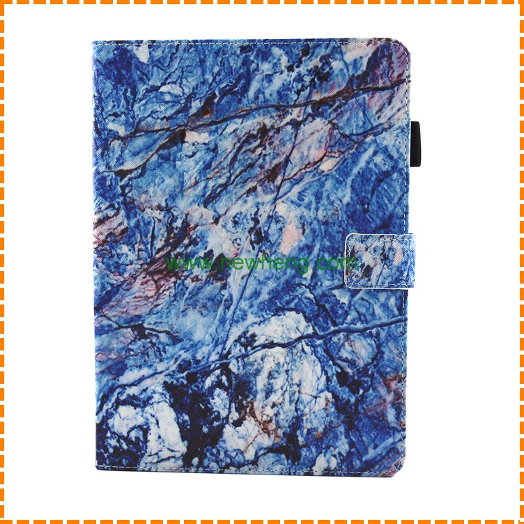 Marble Printed Pattern Leather Protective Cover Case for iPad mini/Air/1/2/3