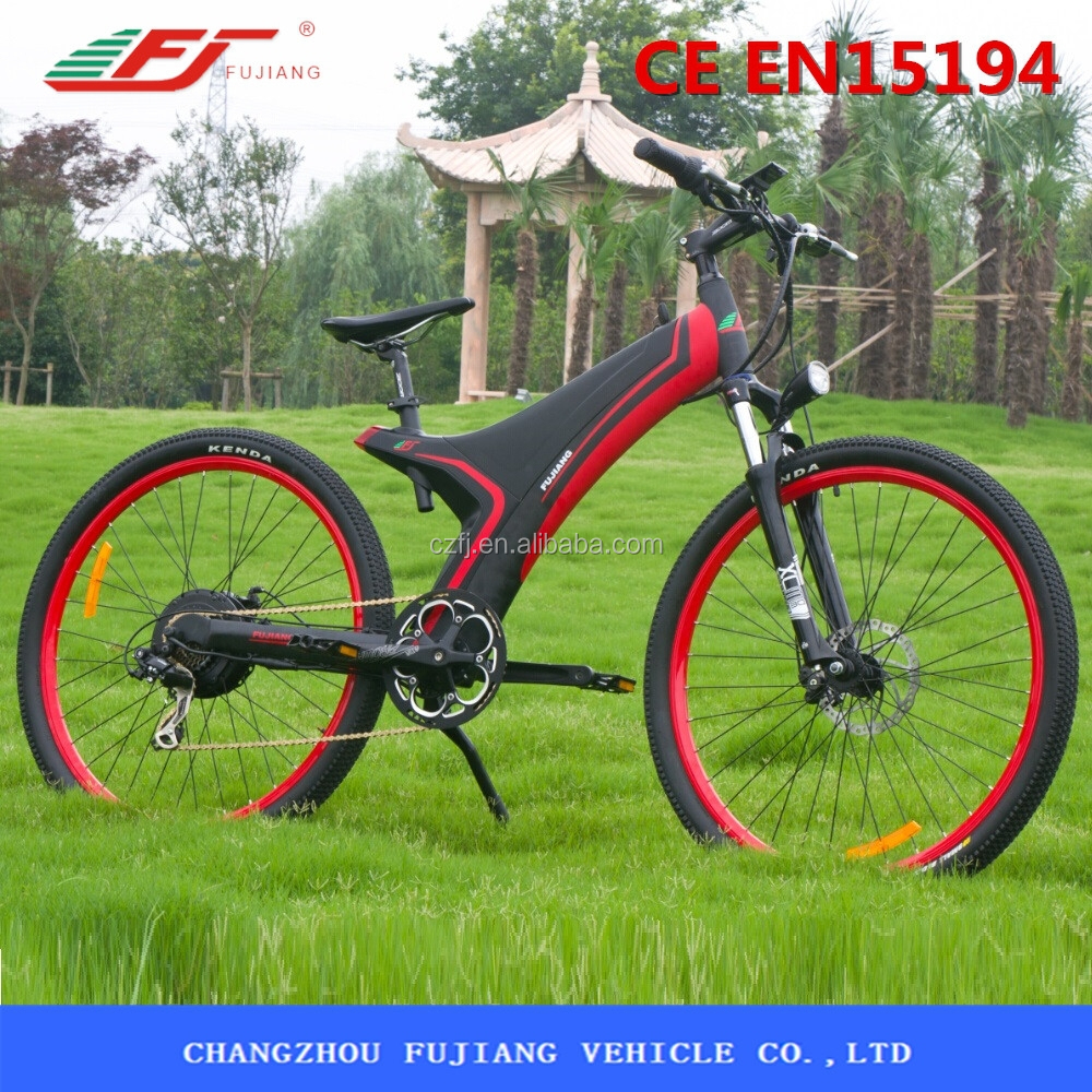 250w 36v pedal assist electric bike adult electric quad bike with CE EN15194