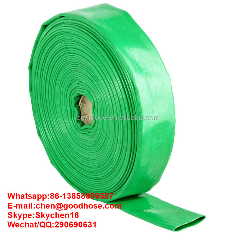 Lay flat Pvc Water Delivery Hose - Discharge Pipe Pump Lay Flat Irrigation