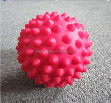 2014 New 9CM Foot Spiky Rubber Exercise Ball