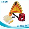 factory price mini roadside emergency kit / road safety kit with warning triangle kit