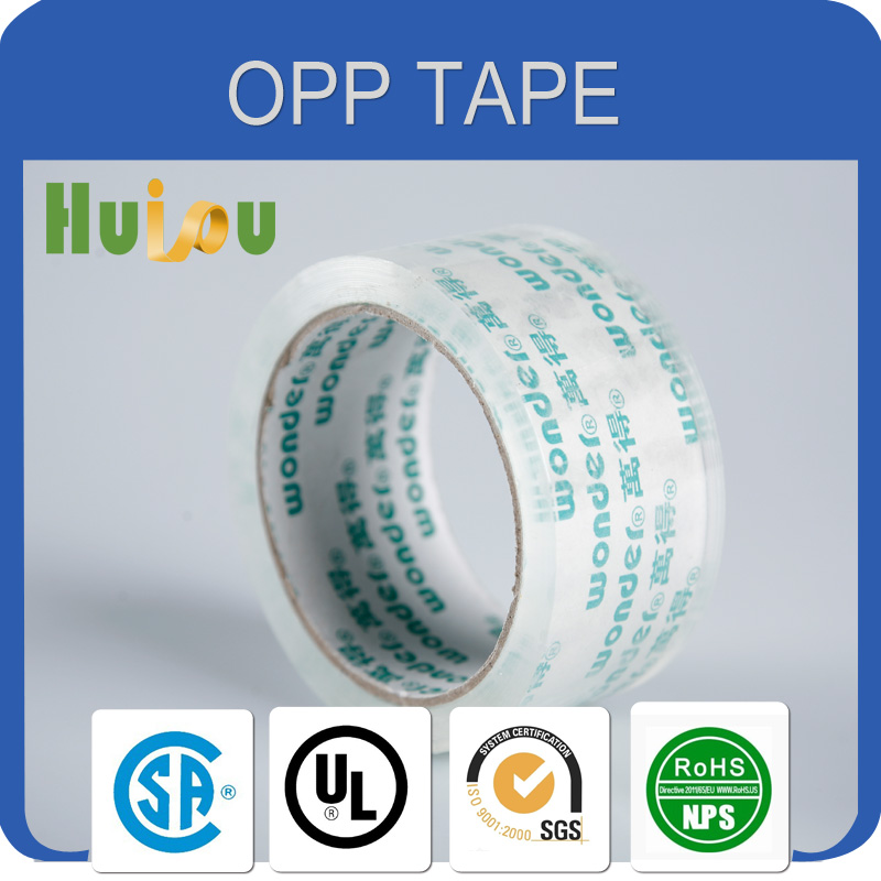 famous product hot melt bopp packing tape