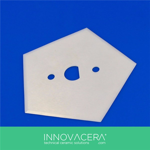 Textile and Fiber Ceramic Pentagon Blade for Cutting <strong>Industry</strong>/Innovacera