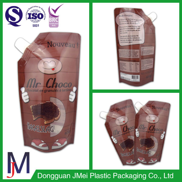 plastic liquid storage bags coffee pouch energy drink pouches
