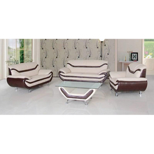Chinese factory relaxing leaving room leather sofa funiture furniture
