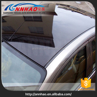 1.35*15m PVC Material Self Adhesive Glossy Black Car Vinyl Roof Protection Film