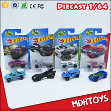 Hot sell free wheels 1:64 diecast model bulk alloy toys cars for child