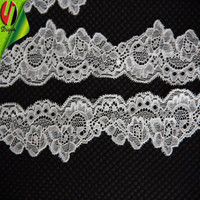 Embroidery design Jacquard trim lace for Women's neck lace