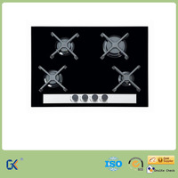 CE Approval Tempered Glass Sabaf Burners Built in Ceramic Gas Hob/Gas Stove