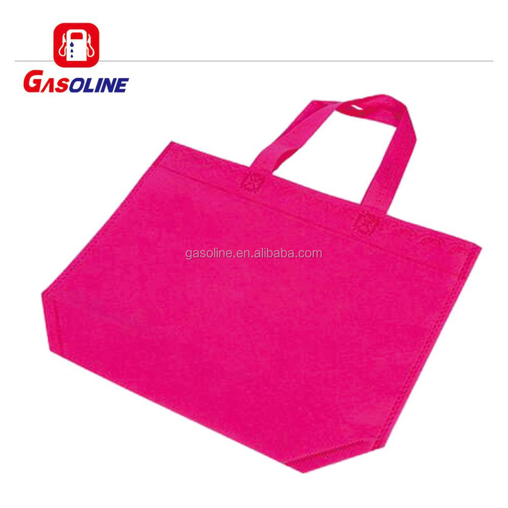 Luxurious personalized plastic non woven cylinder bag