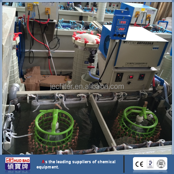 International standard Brass Plating Line With Expert To Do The Installation of China Supply