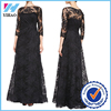 Lace Floral Designs Dresses evening New Fashion Women Bandage Black Bodycon Party Sexy wholesale Women Dresses elegant dress