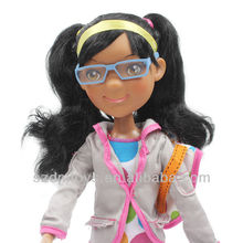 China supplier wholesale plastic american barbie dolls for kids