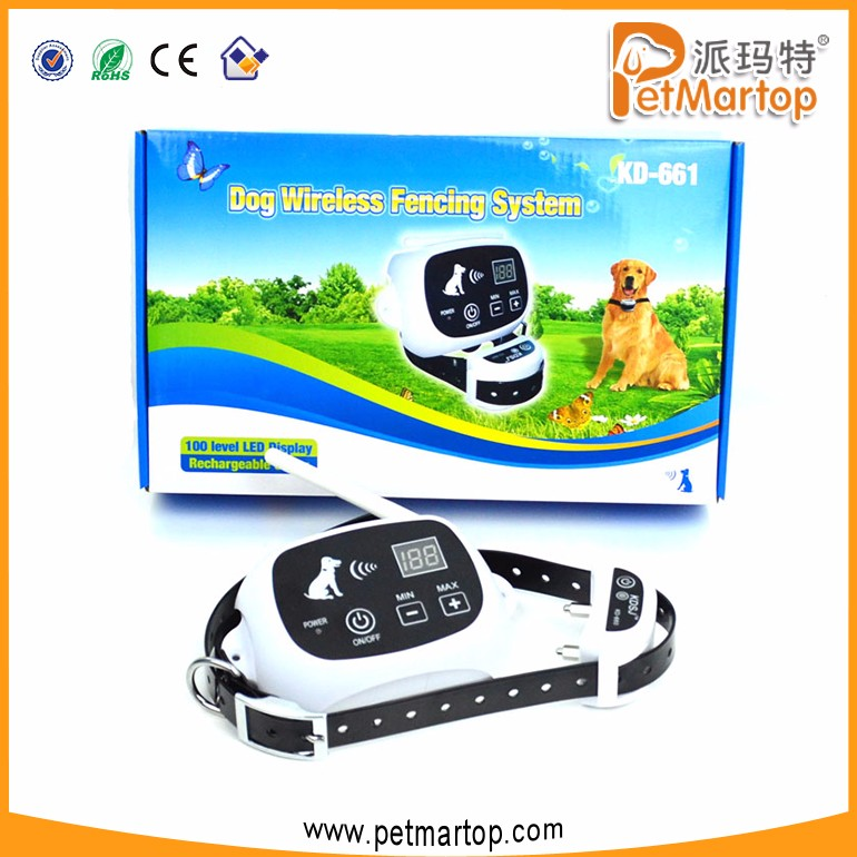 Customize Security Electric Wireless Electric Dog Fence PET661