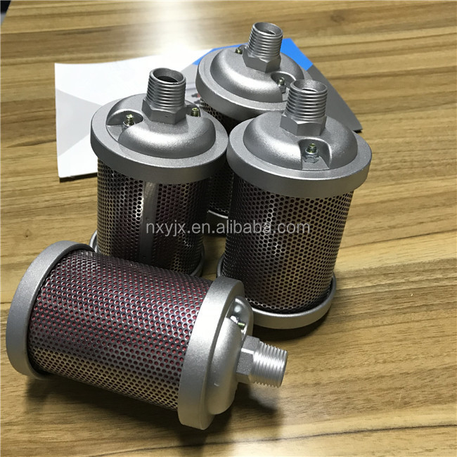 "Pneumatische element XY-05 1/2 ""air silencer motor uitlaatdempers"