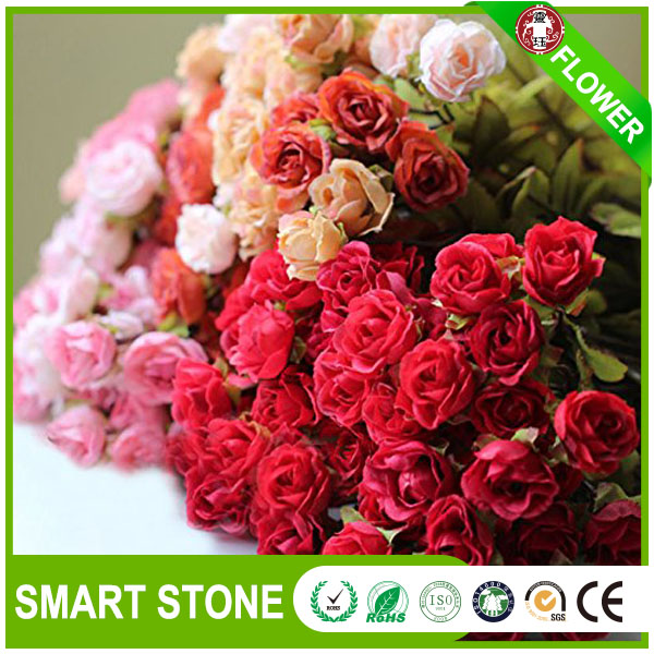 High Quality Hydrangea Artificial Flower Multicolored Silk Flower