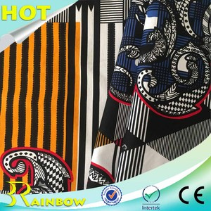 Mercerized Printing 100% Cotton Interlock Vietnam Cotton Fabric for Brands