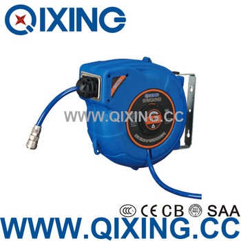 Cood-proof wear-proof plastic auto cable reel cable wire with steel pawl seat