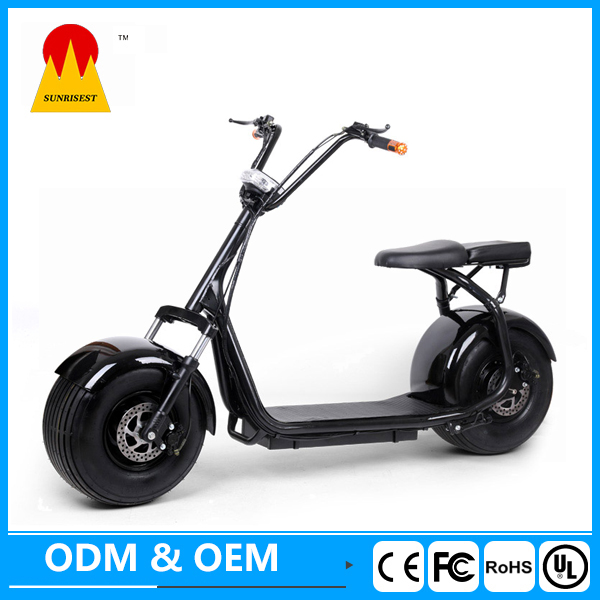 New brand kinetic moped 2000w electric scooter scrooser harley