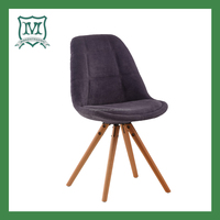plastic chair with fabric /wooden sofa chair/overstuffed living room chair