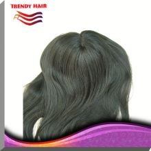 Blonde Silky Straight Toupee For Women 63