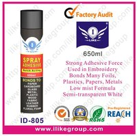 spray glue for cloth/textile